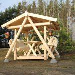 Gartenschaukel Erwachsene Grillschaukel Pavillon Massiv Finnwerk Wohnzimmer Gartenschaukel Erwachsene