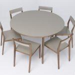 Esstische Design Mint Tisch Table Aus Massivholz Rund Esszimmertische Designer Holz Ausziehbar Moderne Küche Industriedesign Massiv Badezimmer Bett Modern Esstische Esstische Design