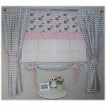 Scheibengardine Kinderzimmer Vorhnge Elefanten Mit Regenschirm Regal Weiß Sofa Scheibengardinen Küche Regale Kinderzimmer Scheibengardine Kinderzimmer