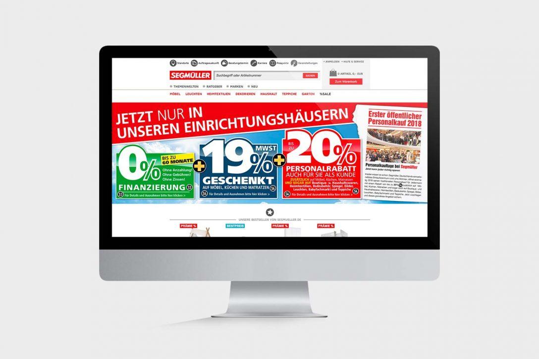 Large Size of Segmüller Küchen Segmller Werbeagentur Regal Küche Wohnzimmer Segmüller Küchen