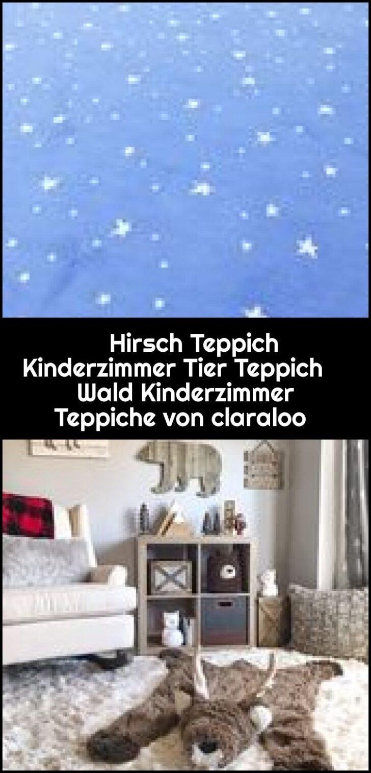 Medium Size of Hirsch Teppich Kinderzimmer Tier Wald Regal Weiß Wohnzimmer Teppiche Regale Sofa Kinderzimmer Kinderzimmer Teppiche