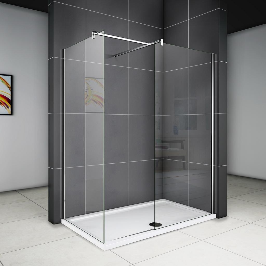 Full Size of Glastrennwand Dusche 100x200cm Glaswand Duschkabine Duschabtrennung Seitenwand Unterputz Armatur 80x80 Eckeinstieg Wand Komplett Set Begehbare Duschen Moderne Dusche Glastrennwand Dusche