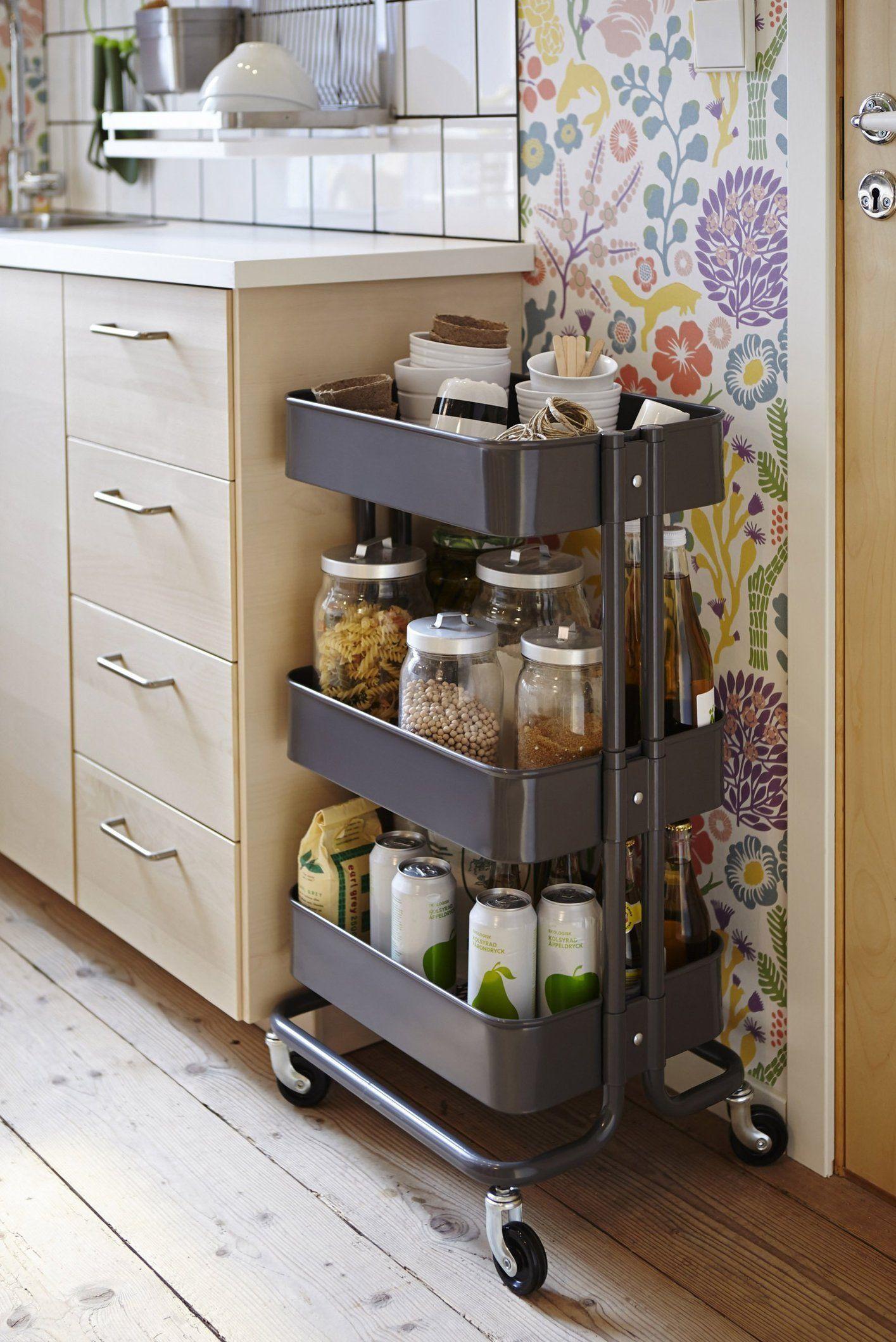 Full Size of 15 Ways To Use Ikeas 30 Rskog Cart Around The Kitchen Mbel Betten Bei Ikea Modulküche Sofa Mit Schlaffunktion Miniküche 160x200 Küche Kaufen Kosten Wohnzimmer Küchenwagen Ikea