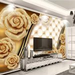 Wohnzimmer Gold Schn Us 8 4 Off Beibehang Nach Foto Tapeten 3d Lampe Kamin Indirekte Beleuchtung Rollo Tapete Wandbilder Relaxliege Teppich Sideboard Wohnzimmer Wohnzimmer Tapeten Vorschläge