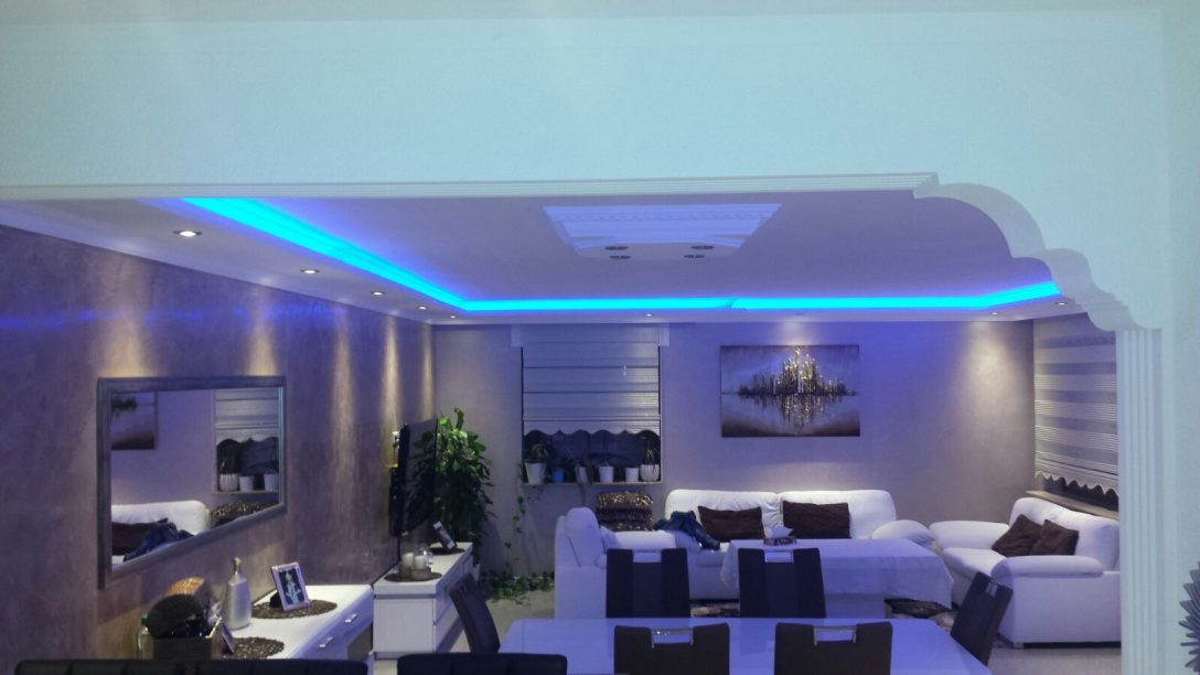Large Size of 2 Meter Indirekte Beleuchtung Led Lichtprofile Wand Decken Tagesdecken Für Betten Deckenleuchte Schlafzimmer Deckenleuchten Küche Wohnzimmer Bad Deckenlampe Wohnzimmer Indirekte Beleuchtung Decke