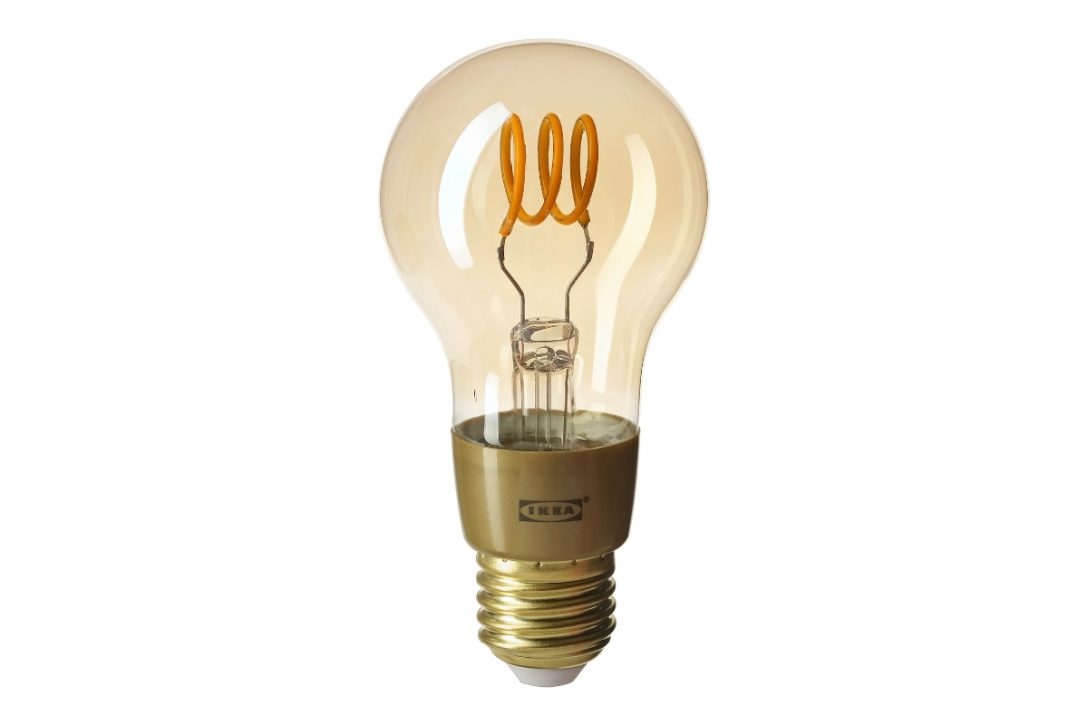 Large Size of Ikea Trdfri Neue Led Leuchtbirne Mit Glhdraht Optik Küche Kaufen Lampen Badezimmer Stehlampen Wohnzimmer Deckenlampen Modern Betten Bei Modulküche Wohnzimmer Ikea Lampen