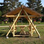 Gartenschaukel Erwachsene Wohnzimmer Gartenschaukel Jack Grillschaukel Pavillon Finnwerk