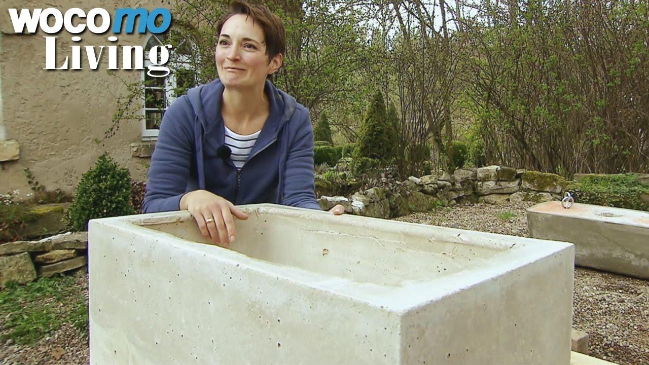 Full Size of Waschbecken Aus Beton Selbst Gemacht Youtube Küche Keramik Outdoor Kaufen Bad Badezimmer Edelstahl Wohnzimmer Outdoor Waschbecken