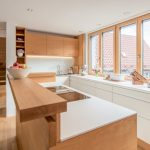 Küchen Ideen Wohnzimmer Küchen Ideen Offene Kche Mit Kochinsel Tresen Holz Kchen Bad Renovieren Regal Wohnzimmer Tapeten