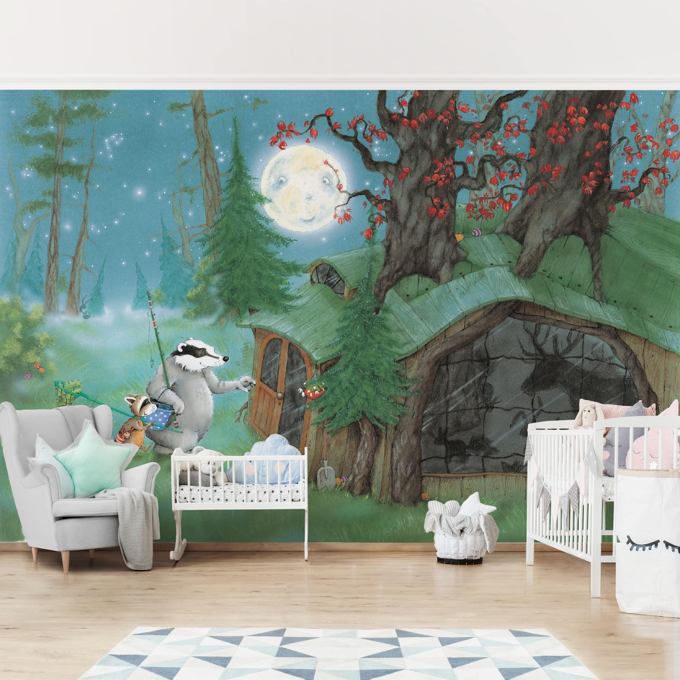 Full Size of Tapeten Für Kinderzimmer Selbstklebende Tapete Wassili Auf Dem Heimweg Regal Weiß Fliesen Dusche Kopfteil Bett Küche Körbe Badezimmer Schlafzimmer Schaukel Kinderzimmer Tapeten Für Kinderzimmer