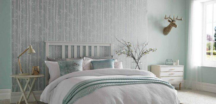 Medium Size of Schlafzimmer Tapete Modern Tapezieren Tapeten Blau Grau Trends 2019 Graues Bett Ideen Und Tipps Zur Anwendung Komplettes Wohnzimmer Vorhänge Sessel Komplette Wohnzimmer Schlafzimmer Tapete