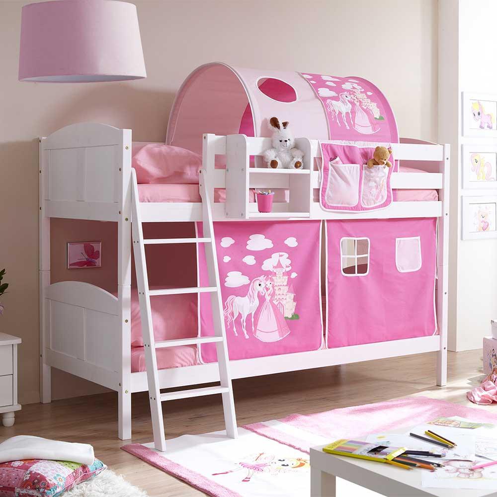 Full Size of Kinderzimmer Pferd Weies Vollholz Etagenbett Fr Mit Stoff In Pink Regal Regale Sofa Weiß Kinderzimmer Kinderzimmer Pferd