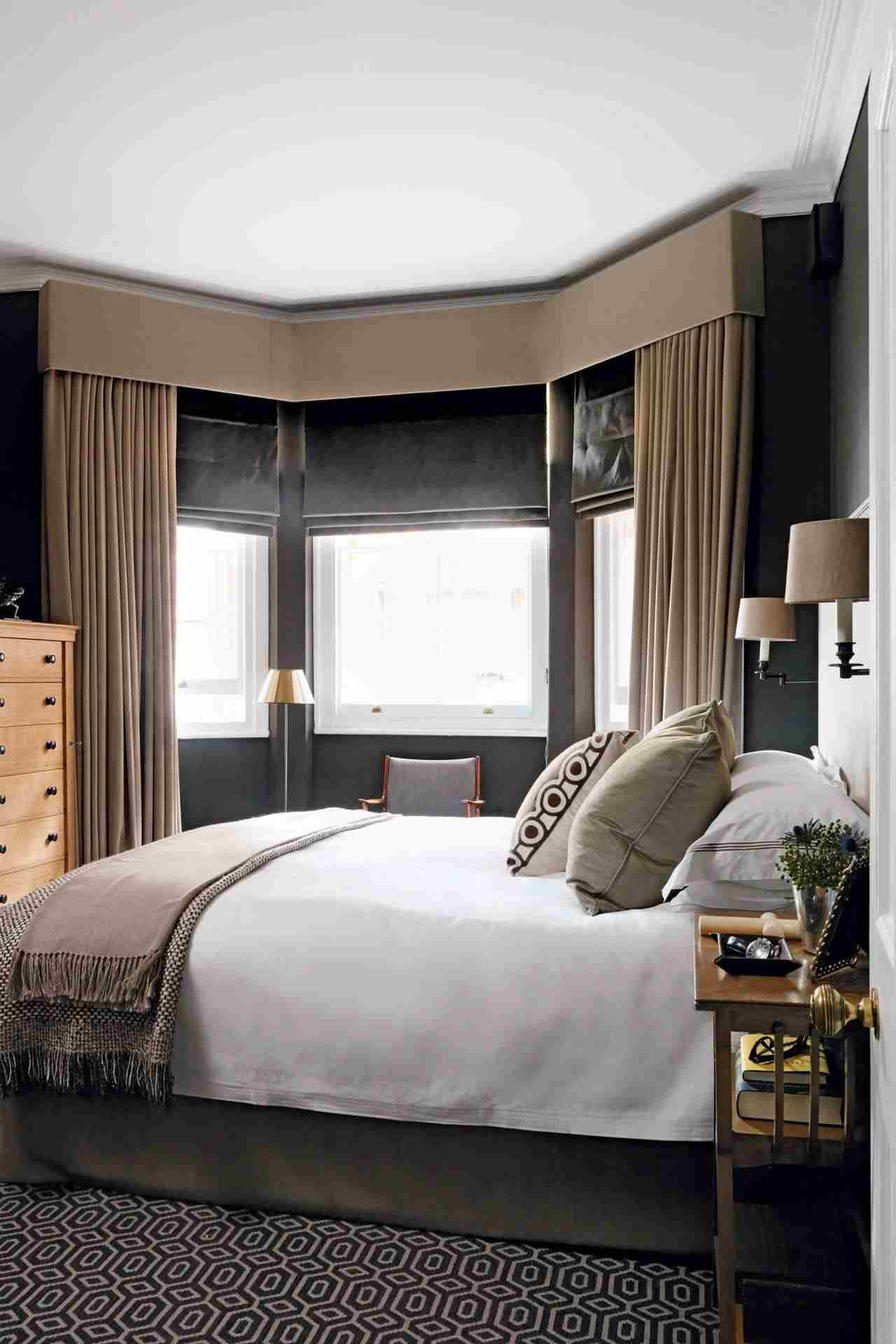 Full Size of Schlafzimmer Gestalten Wie Am Besten Einen Erker 50 Praktische Und Stilvolle Gardinen Teppich Mit überbau Günstige Komplett Lampe Deckenleuchte Modern Nolte Wohnzimmer Schlafzimmer Gestalten