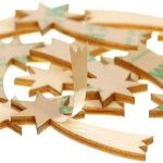 Wanddeko Holz Wohnzimmer Wanddeko Holz Selbstklebende Sternschnuppen 1 10cm Basteln Deko Betten Massivholz Holzküche Bett Aus Esstische Holzbrett Küche Holzbank Garten Holztisch