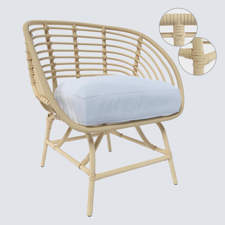 Full Size of Sessel Ikea Buskbo 3d Modell Turbosquid 1413891 Sofa Mit Schlaffunktion Lounge Garten Modulküche Betten 160x200 Schlafzimmer Küche Kaufen Wohnzimmer Wohnzimmer Sessel Ikea