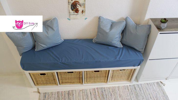 Medium Size of Eckbank Ikea Sitzbank Mit Bezug Und Kissen Hack Diy Eule Youtube Sofa Schlaffunktion Garten Modulküche Betten 160x200 Küche Kosten Kaufen Miniküche Bei Wohnzimmer Eckbank Ikea