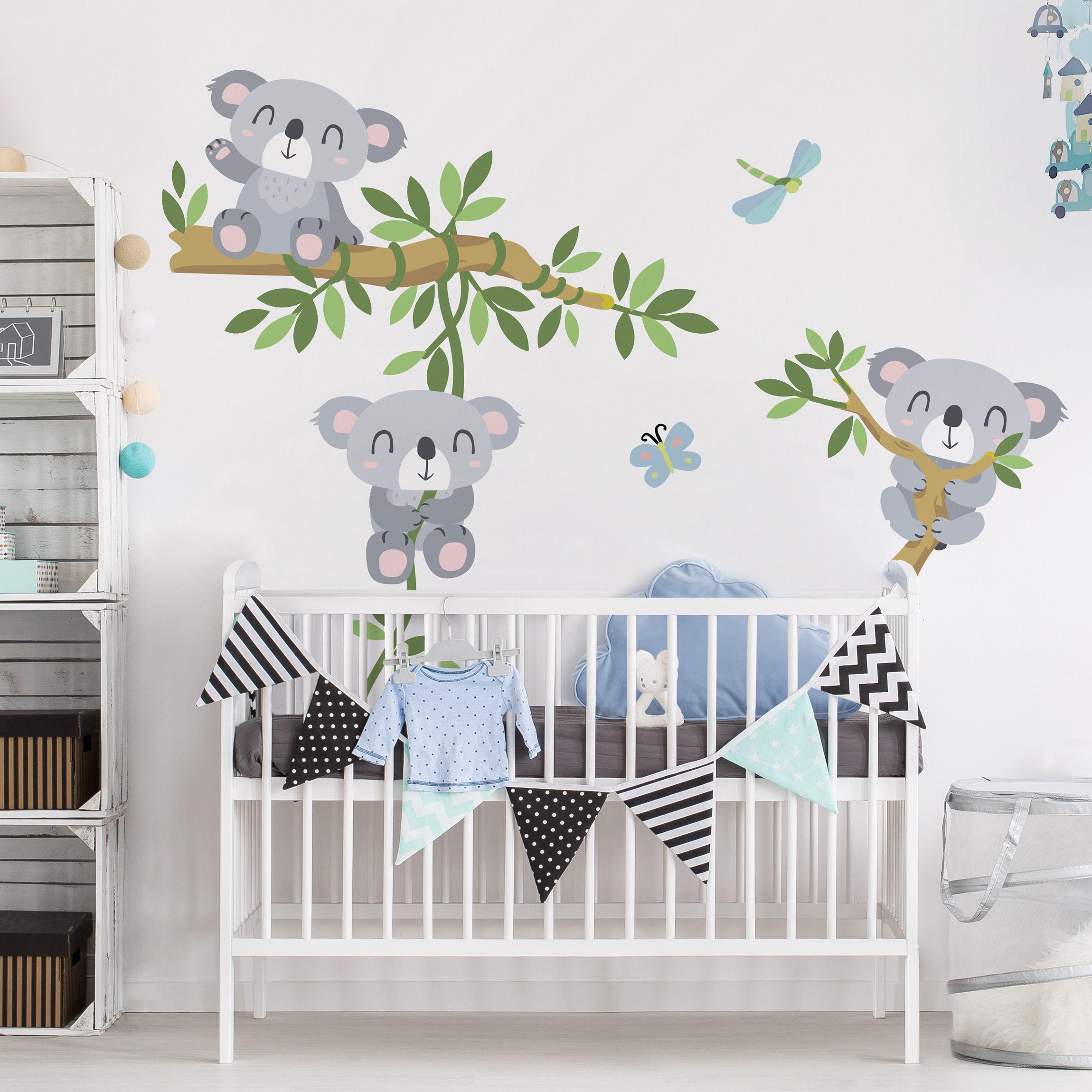 Full Size of Wandsticker Kinderzimmer Junge Wandtattoo Koala Set In 2020 Küche Sofa Regal Weiß Regale Kinderzimmer Wandsticker Kinderzimmer Junge