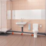 Bodengleiche Dusche Einbauen Sprinz Duschen Glastrennwand Fenster Grohe Glaswand Glasabtrennung Bluetooth Lautsprecher Wand Begehbare Pendeltür Moderne Dusche Bodengleiche Dusche Einbauen