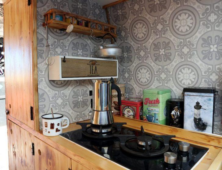 Medium Size of Sinnvolle Deko Fr Den Van Selbstausbau Pataschas World Küche Wandpaneel Glas Outdoor Edelstahl Einbauküche Günstig Wandverkleidung Tapeten Für Single Alno Wohnzimmer Küche Diy