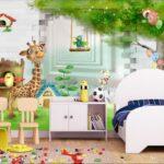 Wandbild Kinderzimmer Kinderzimmer 3d Tapete Foto Vlies Wandbild Wohnzimmer Regal Regale Sofa Schlafzimmer Weiß