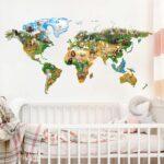 Wandtattoo Kinderzimmer Animal Club International Weltkarte Such Frau Fürs Bett Sofa Für Esszimmer Betten übergewichtige Wandtattoos Schlafzimmer Badezimmer Kinderzimmer Wandtattoo Für Kinderzimmer