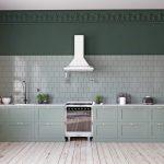 Küche Wandfarbe Grne Kchen Kchendesignmagazin Lassen Sie Sich Inspirieren Winkel Schrankküche Amerikanische Kaufen Rolladenschrank Kräutertopf Deckenlampe Wohnzimmer Küche Wandfarbe