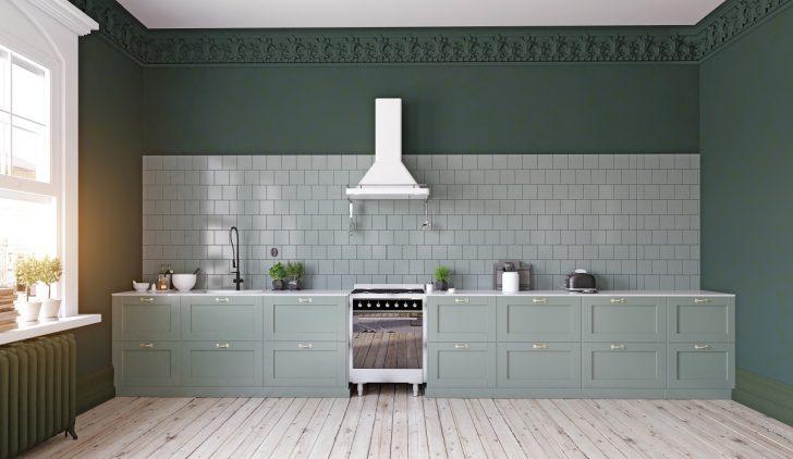 Medium Size of Küche Wandfarbe Grne Kchen Kchendesignmagazin Lassen Sie Sich Inspirieren Winkel Schrankküche Amerikanische Kaufen Rolladenschrank Kräutertopf Deckenlampe Wohnzimmer Küche Wandfarbe