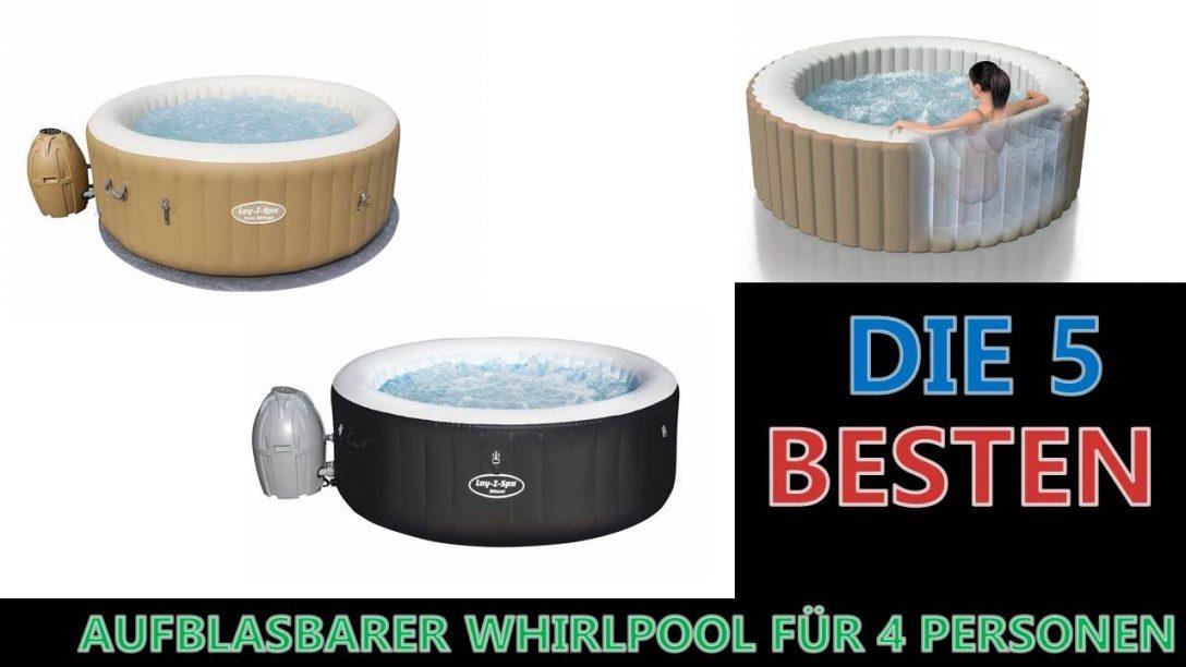 Large Size of Whirlpool Aufblasbar Besten Aufblasbarer Fr 4 Personen 2020 Youtube Garten Wohnzimmer Whirlpool Aufblasbar