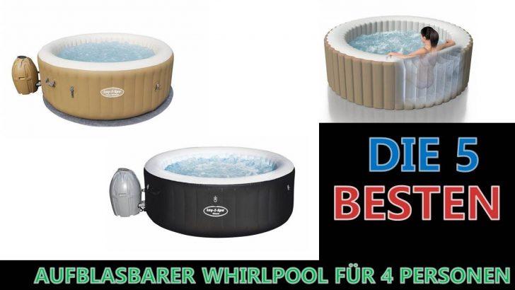 Medium Size of Whirlpool Aufblasbar Besten Aufblasbarer Fr 4 Personen 2020 Youtube Garten Wohnzimmer Whirlpool Aufblasbar