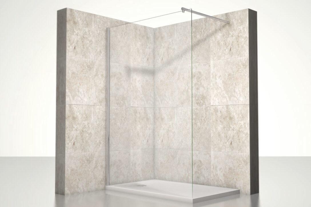 Large Size of Glasabtrennung Dusche Premium Duschwand Heidi One Bath Kleine Bäder Mit Komplett Set Haltegriff Bodengleiche Fliesen Duschen Sprinz Abfluss 80x80 Grohe Walkin Dusche Glasabtrennung Dusche
