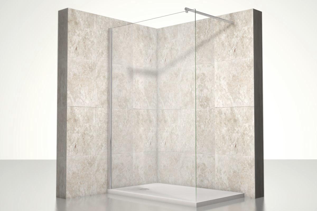Full Size of Glasabtrennung Dusche Premium Duschwand Heidi One Bath Kleine Bäder Mit Komplett Set Haltegriff Bodengleiche Fliesen Duschen Sprinz Abfluss 80x80 Grohe Walkin Dusche Glasabtrennung Dusche