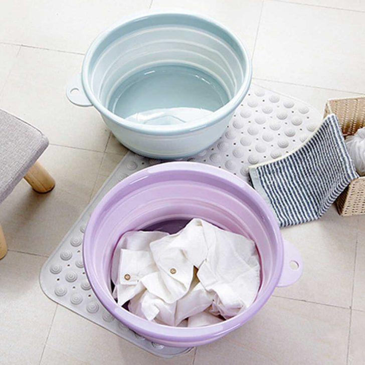 Medium Size of Outdoor Waschbecken Tragbare Faltbare Wsche Korb Kche Schale Bad Küche Kaufen Keramik Wohnzimmer Outdoor Waschbecken