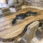 Esstisch Oval Esstische Esstisch Oval Aus Recyceltem Holz Der Tischonkel Set Günstig Glas 80x80 Mit Stühlen Und Stühle Ausziehbar Antik Pendelleuchte Rund Industrial Designer