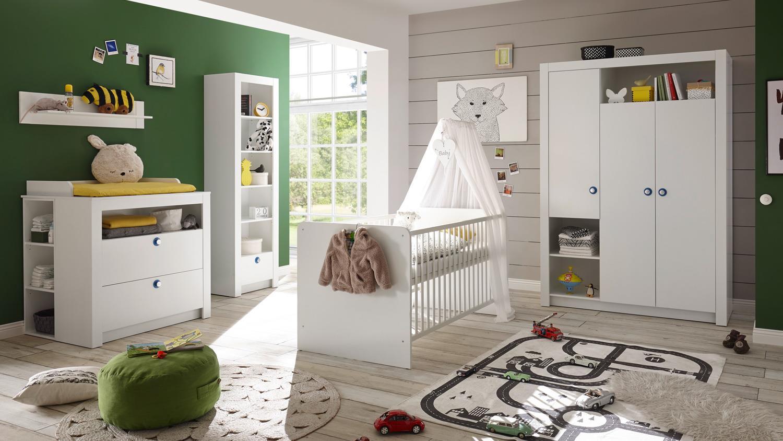 Full Size of Baby Kinderzimmer Komplett Babyzimmer Paula Set Babymbel Wei 6 Teilig Dusche Regal Bett 160x200 Sofa Günstige Schlafzimmer Komplettes Badezimmer Massivholz Kinderzimmer Baby Kinderzimmer Komplett