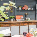 Outdoor Küche Bauen Diy Upcycling Kche Aus Einer Werkbank Leelah Loves Ikea Kosten Modulküche Einbauküche L Form Mülltonne Led Panel Günstige Mit E Wohnzimmer Outdoor Küche Bauen