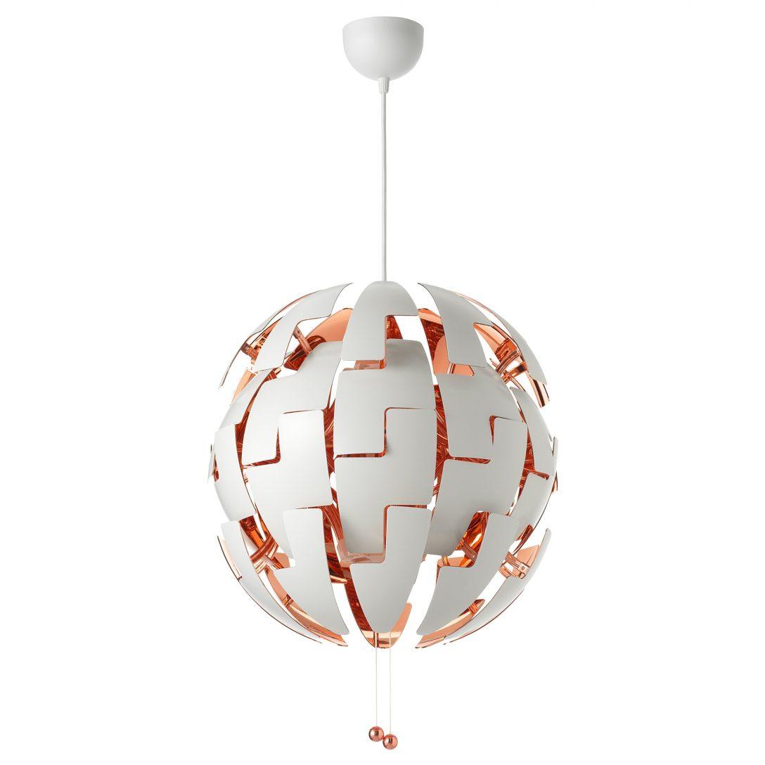 Large Size of Deckenlampe Ikea 52cm Ps 2014 Hngeleuchte Wei Kupferfarben A Deckenlampen Für Wohnzimmer Modulküche Küche Kosten Kaufen Schlafzimmer Betten Bei Modern Bad Wohnzimmer Deckenlampe Ikea