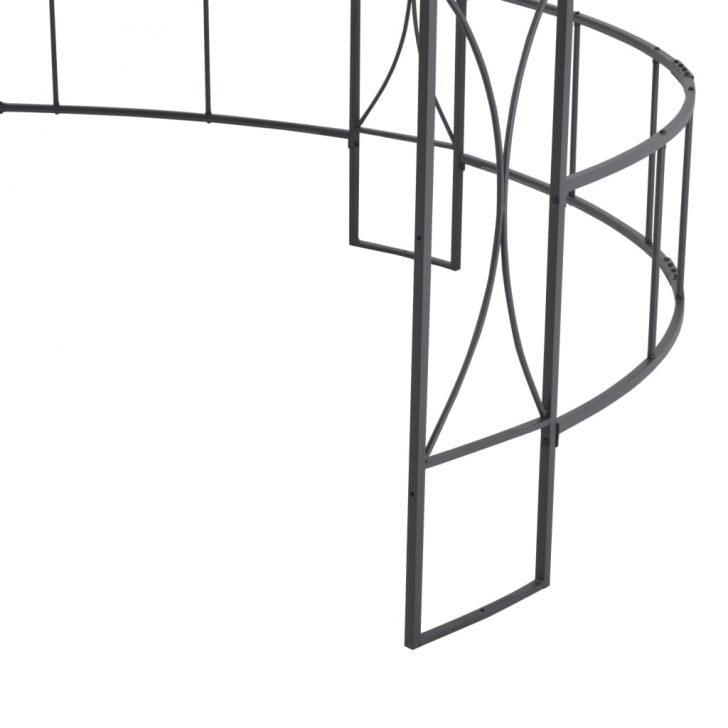 Medium Size of Pavillon Rund Huberxxl 300 290 Cm Wei Esstische Esstisch Ausziehbar Sofa Halbrundes Sri Lanka Rundreise Und Baden Thailand Runde Kuba Mit Stühlen Runder Weiß Wohnzimmer Pavillon Rund