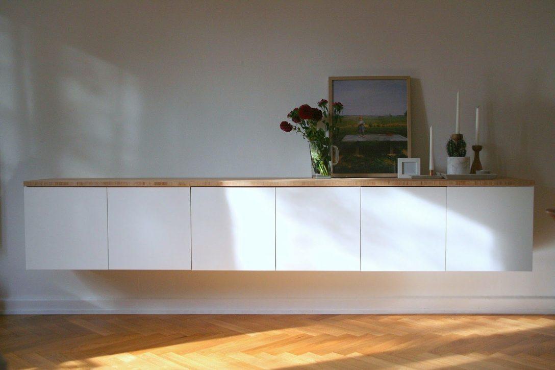 Large Size of Diy Sideboard Ikea Hack Vidanullvier Modulküche Bad Hängeschrank Weiß Küche Höhe Glastüren Kosten Betten 160x200 Kaufen Badezimmer Bei Hochglanz Wohnzimmer Ikea Hängeschrank