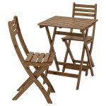 Ikea Gartentisch Askholmen Tisch 2 Sthle Auen Grau Graubraun Lasiert Küche Kosten Betten Bei Kaufen Sofa Mit Schlaffunktion Modulküche Miniküche 160x200 Wohnzimmer Ikea Gartentisch