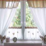 Gardinen Landhausstil Kche Reizend Fenster Deko Fr Für Die Küche Wohnzimmer Sofa Esstisch Schlafzimmer Weiß Bett Wohnzimmer Gardinen Landhausstil
