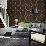 Tapeten Ideen Braune Tapete Bilder Couch Wohnzimmer Bad Renovieren Schlafzimmer Für Die Küche Fototapeten Wohnzimmer Tapeten Ideen