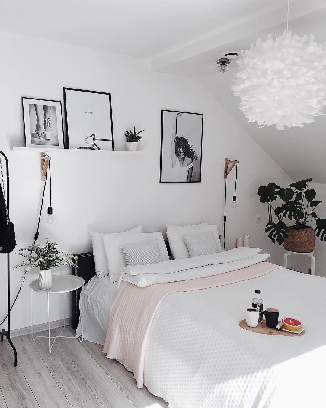 Full Size of White Dreams In Diesem Traumhaften Schlafzimmer Sind Wunderschne Nolte Klimagerät Für Gardinen Landhaus Vorhänge Komplettangebote Kommoden Schränke Kommode Wohnzimmer Hängelampe Schlafzimmer