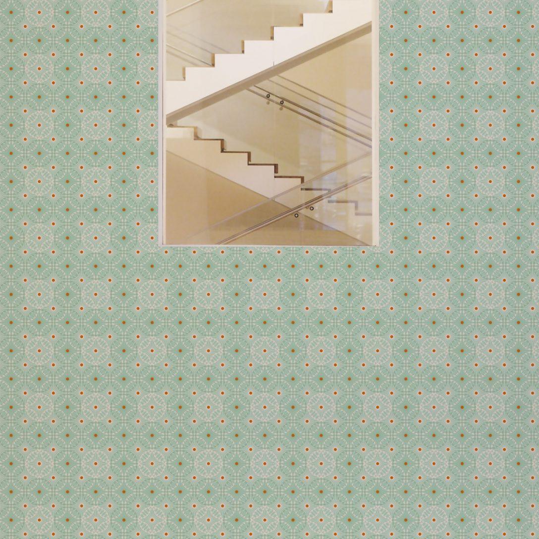 Large Size of Küchentapete Mint Grne Tapete Charming Circles Mit Pfeil Kreisen Wohnzimmer Küchentapete