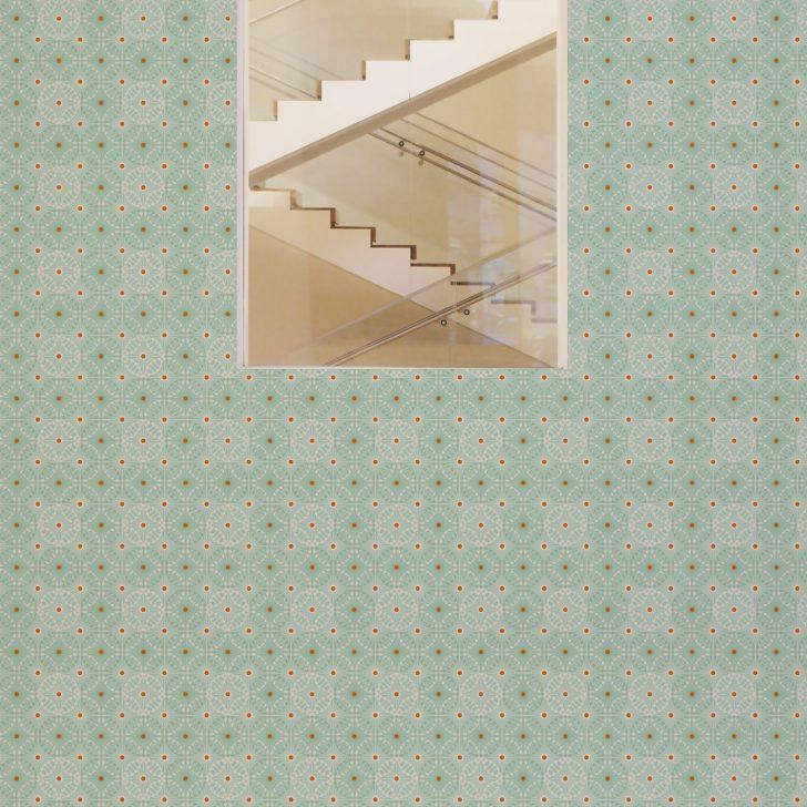 Medium Size of Küchentapete Mint Grne Tapete Charming Circles Mit Pfeil Kreisen Wohnzimmer Küchentapete
