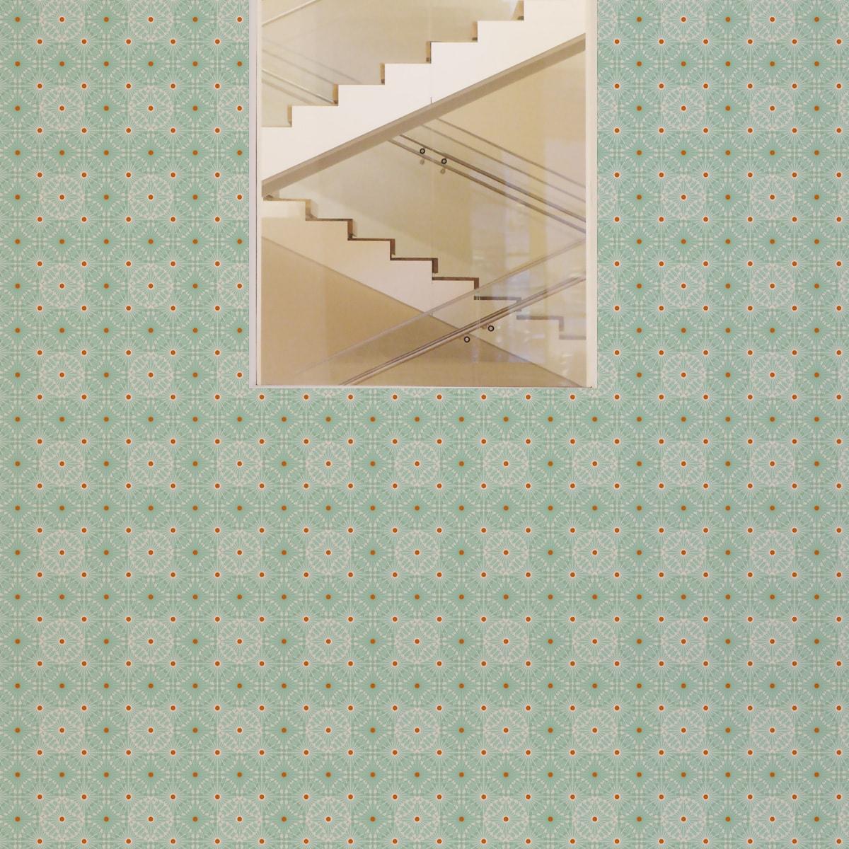 Full Size of Küchentapete Mint Grne Tapete Charming Circles Mit Pfeil Kreisen Wohnzimmer Küchentapete
