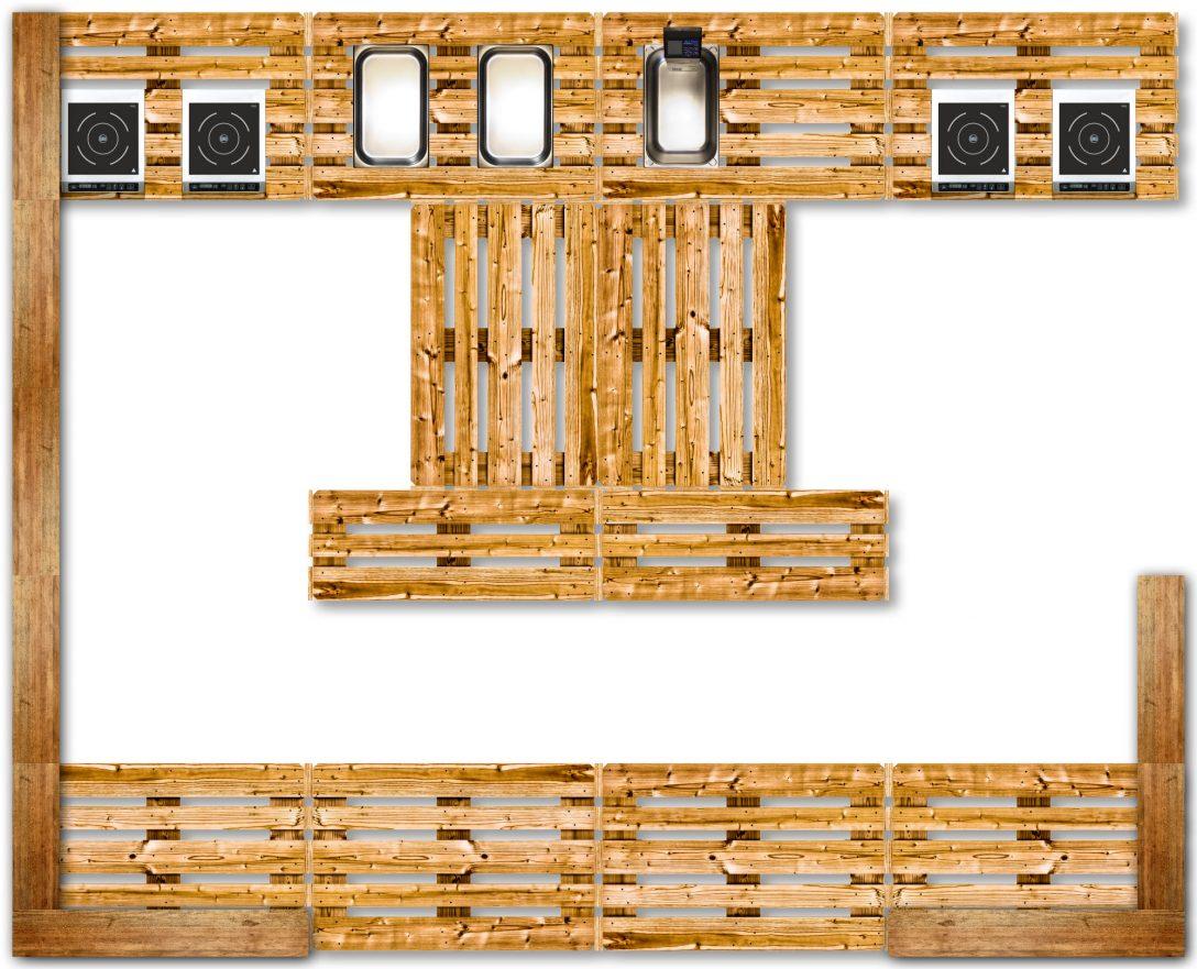 Large Size of Küche Aus Paletten Crazywoodz Kchen Mbel Wohnzimmer Landhausstil Anrichte Nolte Regal Laminat Für Mintgrün Grifflose Wandregal Landhaus Scheibengardinen Wohnzimmer Küche Aus Paletten
