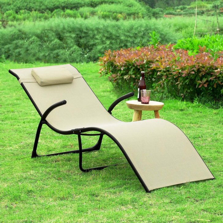 Medium Size of Sobuy Ogs45 Mi Sonnenliege Klappbar Gartenliege Relaxstuhl Ausklappbares Bett Ausklappbar Wohnzimmer Gartenliege Klappbar