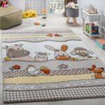 Kinderteppich Kinderzimmer Bauernhof Tiere Teppichcenter24 Wohnzimmer Teppiche Regale Regal Weiß Sofa Kinderzimmer Kinderzimmer Teppiche