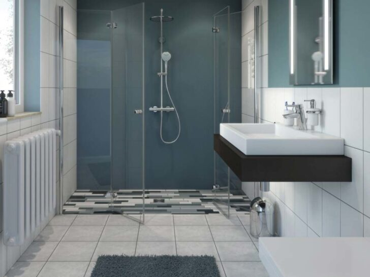Medium Size of Bodengleiche Dusche Welches Material Fr Den Bodenbelag Spiegelschrank Für Bad Fliesen Spiegelschränke Fürs Ebenerdige Wandfliesen Küche Duschen Kaufen Dusche Fliesen Für Dusche