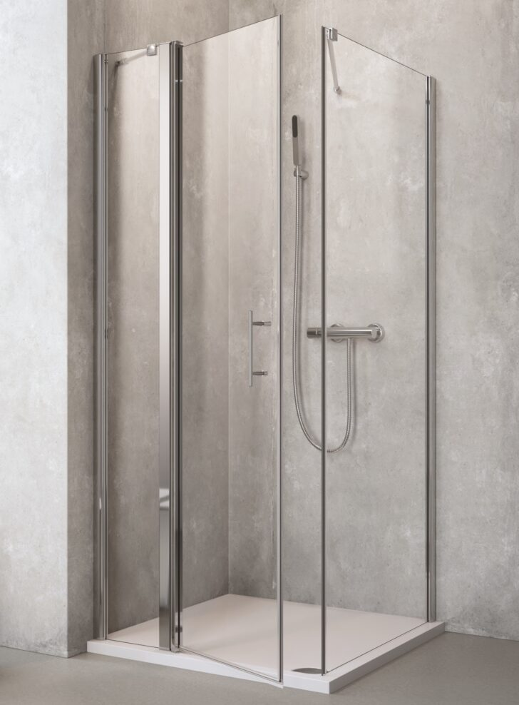 Medium Size of Eckeinstieg Dusche Ebenerdig Bodenebene Bodengleiche Duschen Fliesen Hüppe Badewanne Mit Sprinz Mischbatterie Dusche Eckeinstieg Dusche